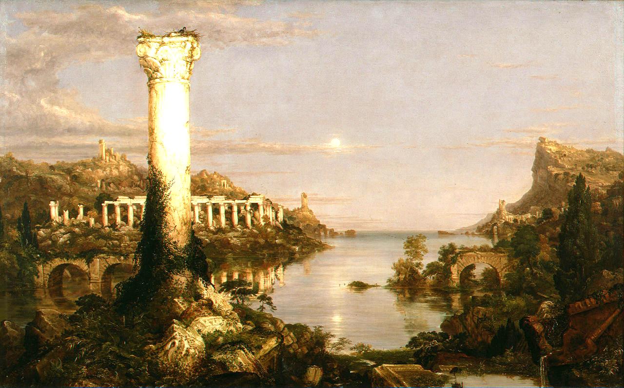 Desolation by Thomas Cole